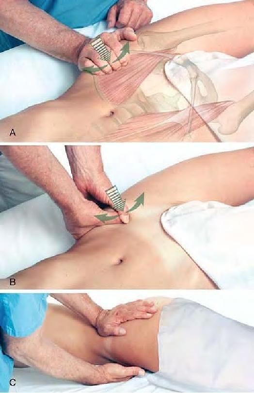 massaggio anca